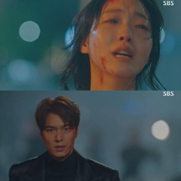 '더 킹' 이민호, 김고은/사진=SBS '더 킹:영원의 군주' 영상 캡처