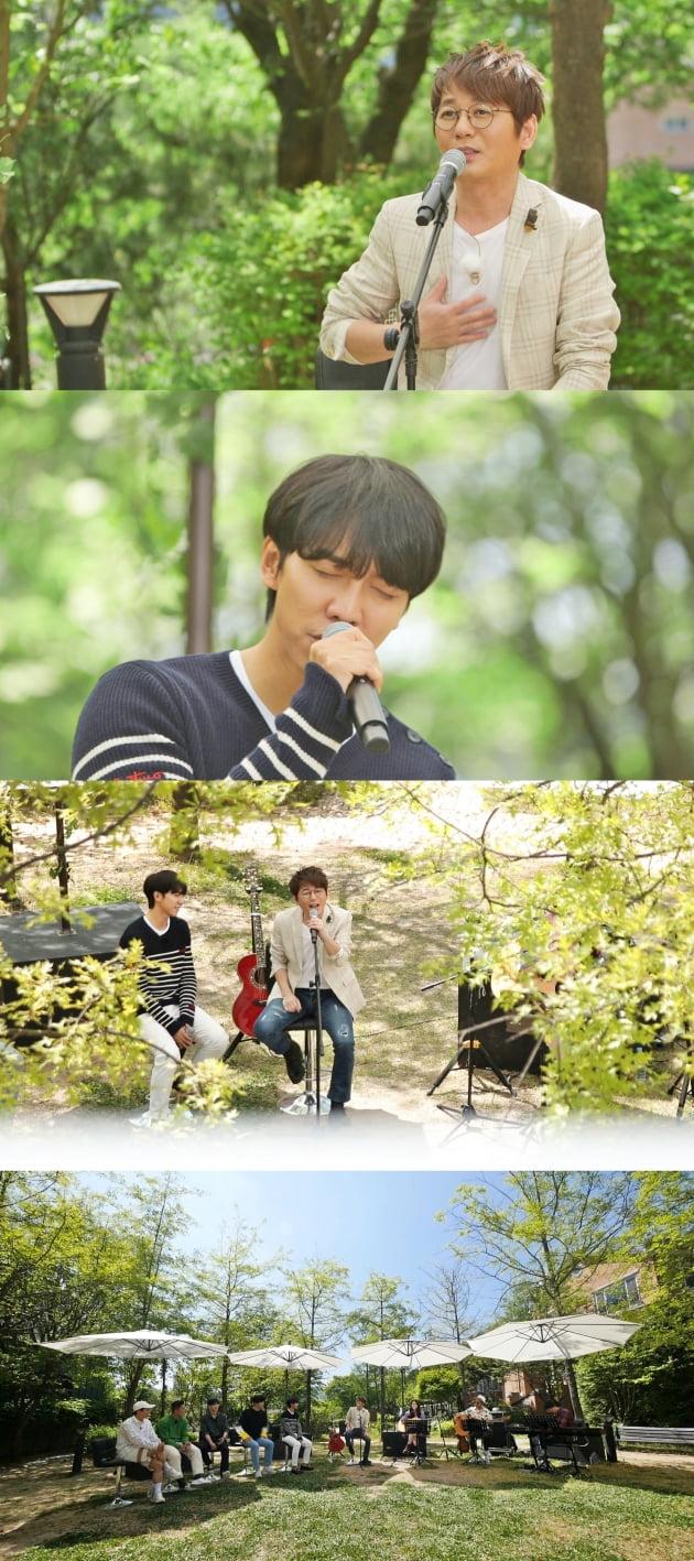 '집사부일체' 숲 속 콘서트 / 사진=SBS 제공