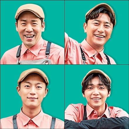 '배달해서 먹힐까' 샘킴, 안정환, 윤두준, 정세운이 케미를 보여주고 있다. / 사진제공=tvN