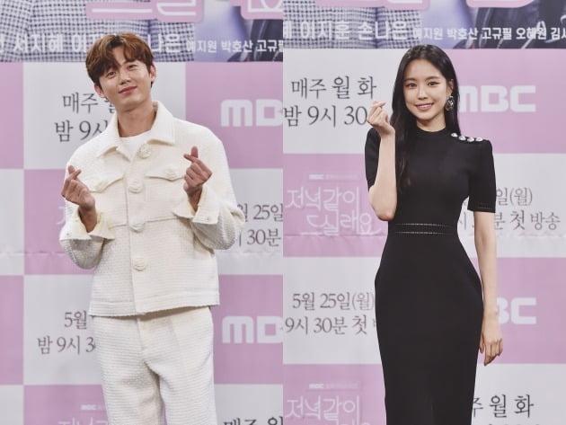 배우 이지훈, 손나은./사진제공=MBC