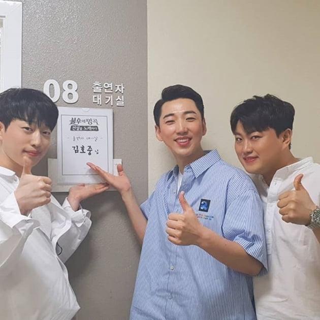 안성훈 영기 김호중 / 사진 = 안성훈 인스타그램