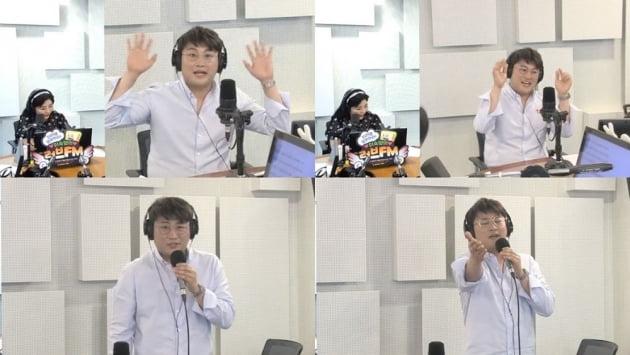 '이숙영의 러브FM' 출연한 가수 김호중/ 사진='이숙영의 러브FM' 보이는 라디오 캡쳐
