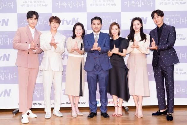 배우 신동욱, 신재하, 원미경, 정진영, 한예리, 추자현, 김지석./사진제공=tvN