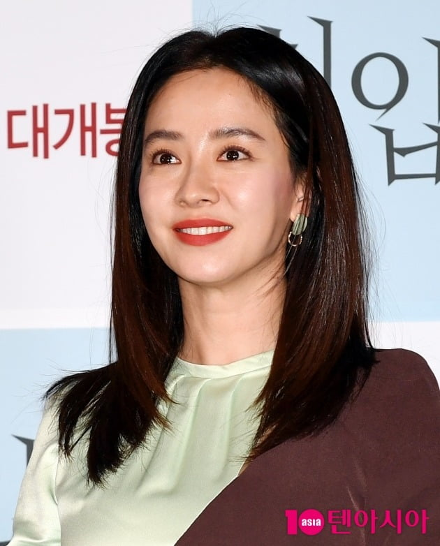 [TEN 포토] 송지효 '아름다운 미소'