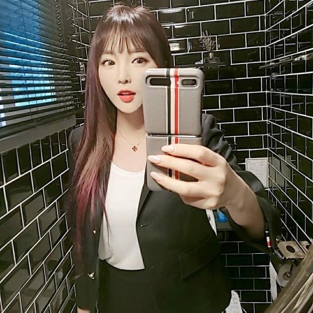 가수 홍진영 / 사진=인스타그램