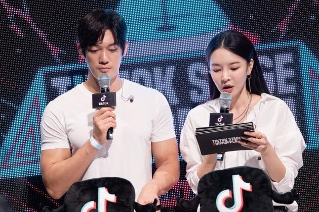 '틱톡 스테이지 위드 힙합플레이야' 박재민 김윤지