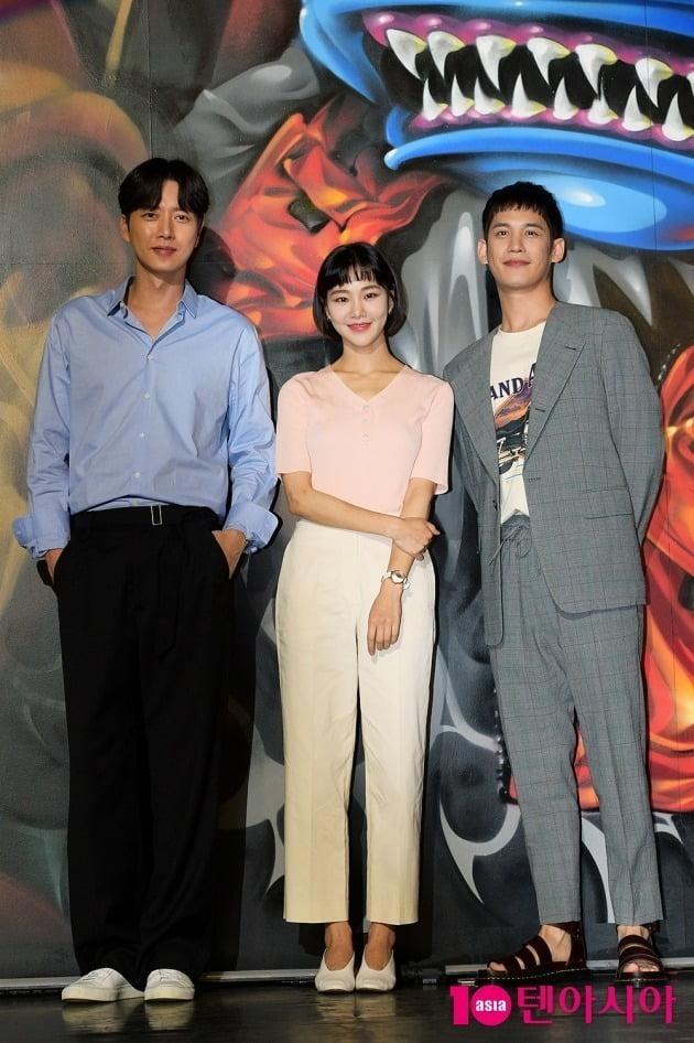 배우 박해진, 한지은, 박기웅./서예진 기자 yejin@