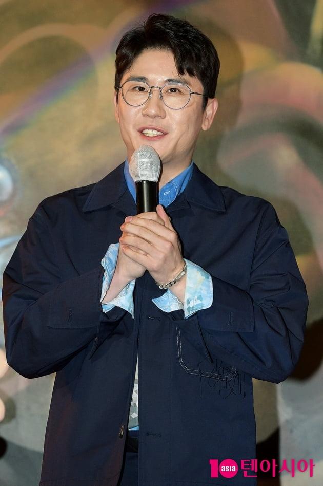 [TEN 포토] 영탁, '꼰대인턴 OST 참여해 영광'