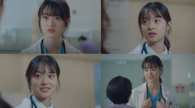 tvN 드라마 '슬기로운 의사생활'에서 응급의학과 펠로우 배준희 역을 맡은 배우 신도현. /사진제공=VAST