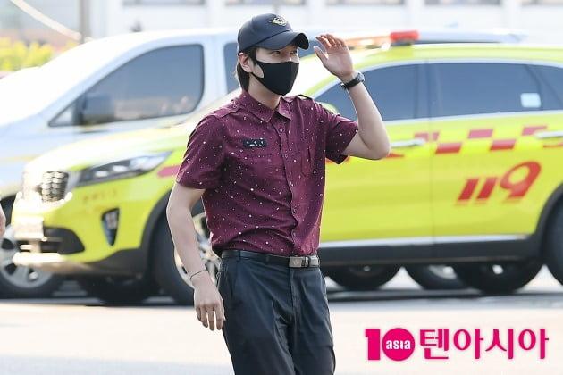 [TEN 포토] 장근석 '사회복무요원 마치고 소집해제'