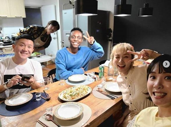 조세호 성시경 크리스 안지영 김민아 / 사진 = 조세호 인스타그램