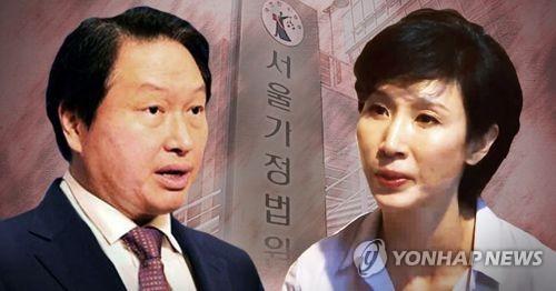'이혼소송' 최태원-노소영 법원에 재산목록 제출…재산분할 대비(종합)