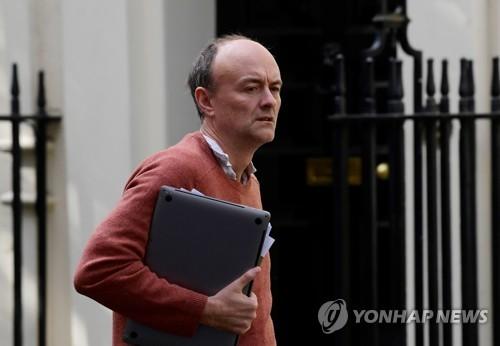 영국 총리 수석보좌관, 봉쇄령 위반논란에 사퇴압박(종합)