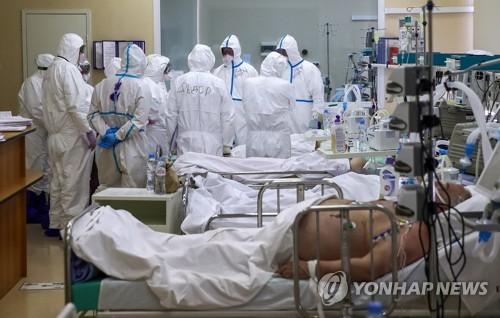 러시아 코로나19 신규확진 엿새째 8천명대…빠른 감소 없어
