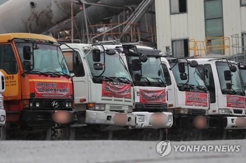 부산·경남 레미콘 파업 2주만에 타결…29일부터 정상 가동(종합)