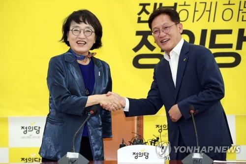 """정의·열린민주 '검찰개혁' 한목소리…""""합하면 9명"""""""