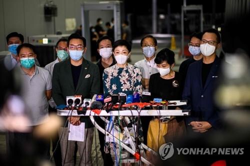 """""""일국양제 끝낼것"""", """"홍콩 완전장악""""…외신, 홍콩보안법에 비판"""