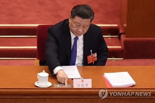 日자민당 홍콩보안법 비난 결의…시진핑 방일 반대 의견도
