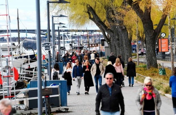 스웨덴 수도 스톡홀름의 모습(사진=연합뉴스)