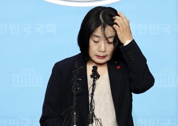 의혹 해명하는 더불어민주당 윤미향 당선인 (사진=연합뉴스)