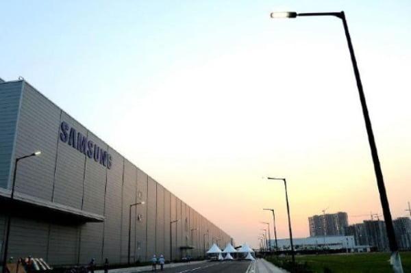 갤럭시M51을 생산하는 삼성전자 인도 노이다 공장/사진제공=삼성전자