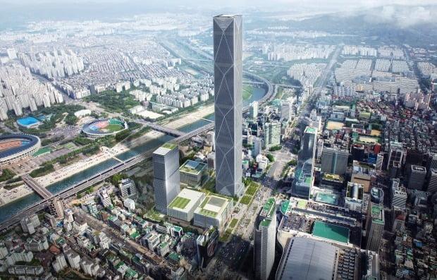 현대차그룹이 서울 삼성동에 조성하는 GBC 조감도. 사진=현대차그룹