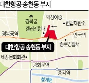 서울시, 송현동 대한항공 부지 공원화 강행…4670억 제시