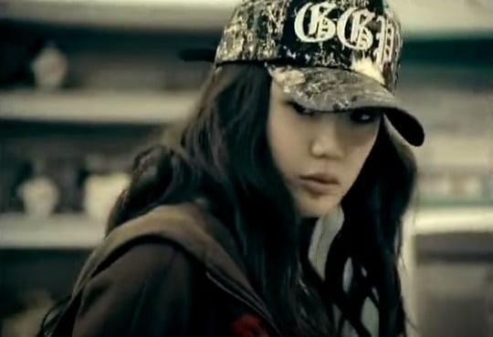 박봄, '대종상 영화제' 참석 후 화제 /사진=애니콜 CF 출연 당시 모습 캡처