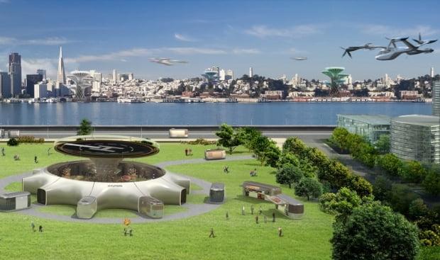 현대차가 지난 1월 CES 2020에서 제시한 미래 모빌리티 비전 이미지. 사진=현대차