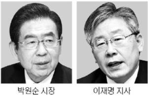 """박원순, 이재명 겨냥…""""기본소득보다 전국민 고용보험을"""""""