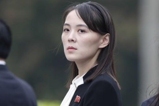 김여정 북한 노동당 제1부부장. 사진=연합뉴스