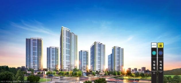 금강주택, '덕계역 금강펜테리움 센트럴파크' 6월 분양