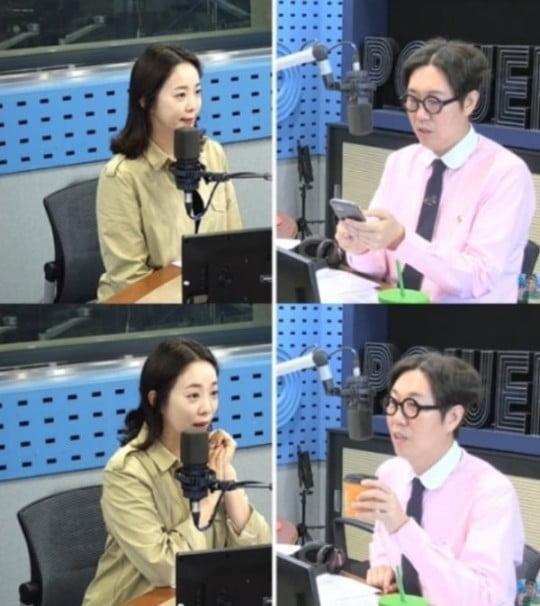 박은영, '철파엠' 출연/사진=SBS 파워FM '김영철의 파워FM' 영상 캡처