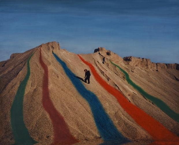 한국 실험미술의 선구자로 꼽히는 이승택의 1987년퍼포먼스 작품 '무제'의 기록 사진. 갤러리현대 제공