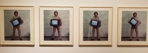 박현기의 1979년 작품 '물 기울기'.