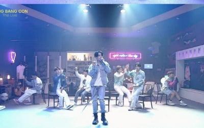 """""""빨리 '봄날' 오길""""…방탄소년단, 전 세계 아미 향한 ♥ 가득 '방방콘'"""