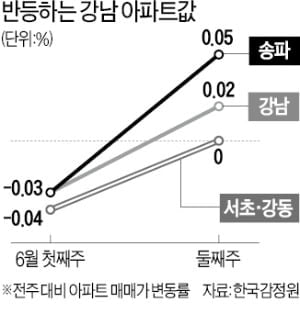 """""""집도 안보고 계약""""…강력 규제 예고에도 강남 다시 '들썩'"""
