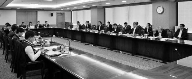 전국금융산업노동조합과 금융산업사용자협의회는 지난 10일 서울 중구 은행회관에서 4차 임금 및 단체협약(임단협) 교섭을 진행했다. /사진=금융노조
