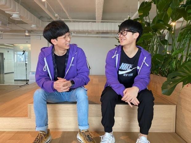센드버드 한국 사무실에서 만난 이재성(오른쪽)·김민혁 씨