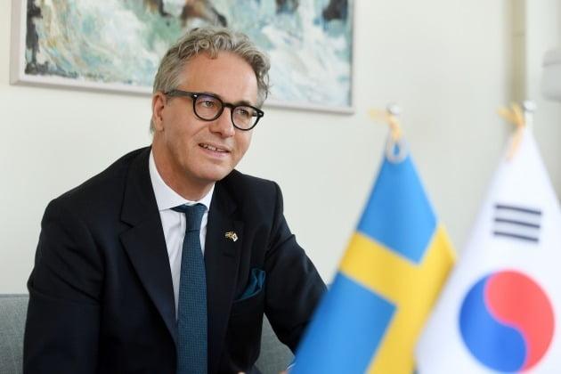 야콥 할그렌 주한 스웨덴 대사 [사진=최혁 한경닷컴 기자]