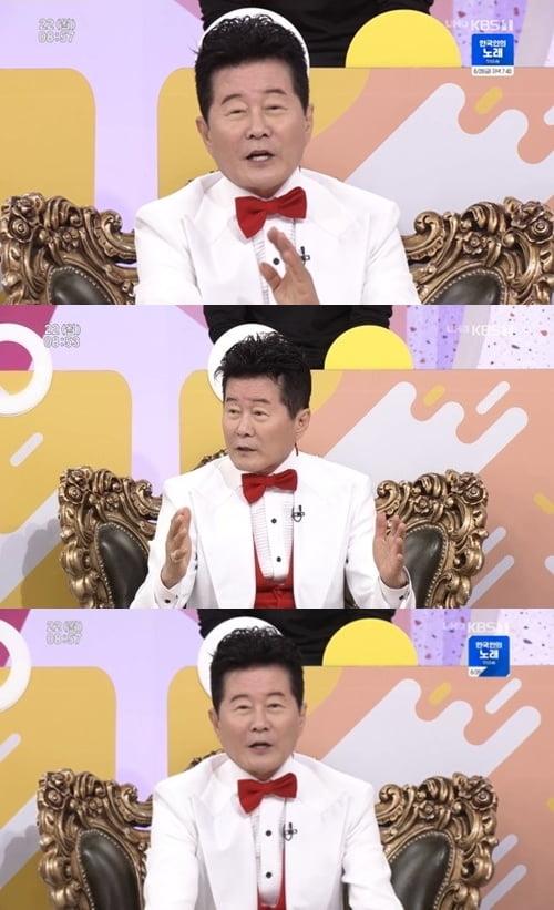 '아침마당' 태진아 /사진=KBS1 방송화면 캡처