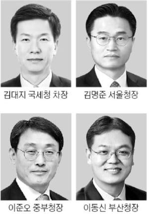차기 국세청장은 누구…김대지 차장, 김명준·이준오 청장 등 4명 물망