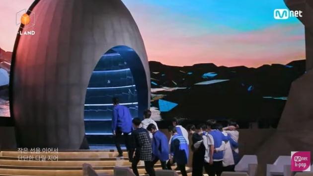 /사진=Mnet '아이랜드' 시그널 송 뮤직비디오 영상 캡처
