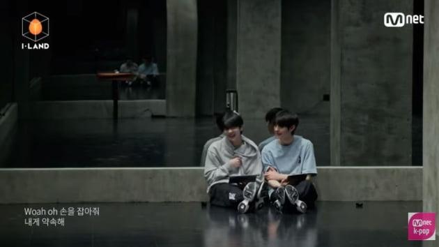 /사진=Mnet '아이랜드' 시그널송 뮤직비디오 영상 캡처