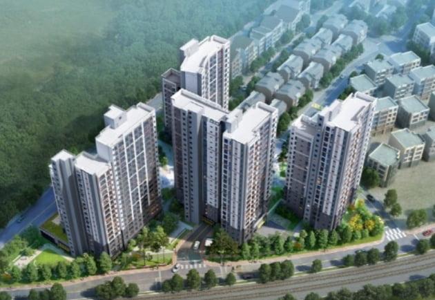 일신건영, '양평 휴먼빌 센트럴시티' 248가구 공급