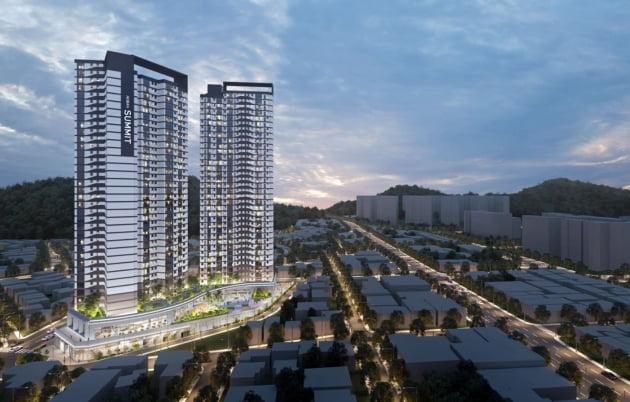 호반건설, 부산 동성하이타운 가로주택정비사업 수주