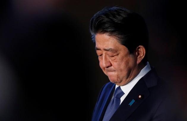 아베 신조 일본 총리 [사진=로이터 연합뉴스]