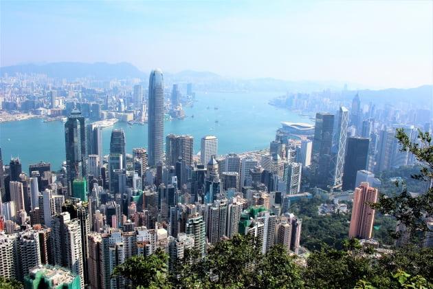 홍콩 전경. 한경DB