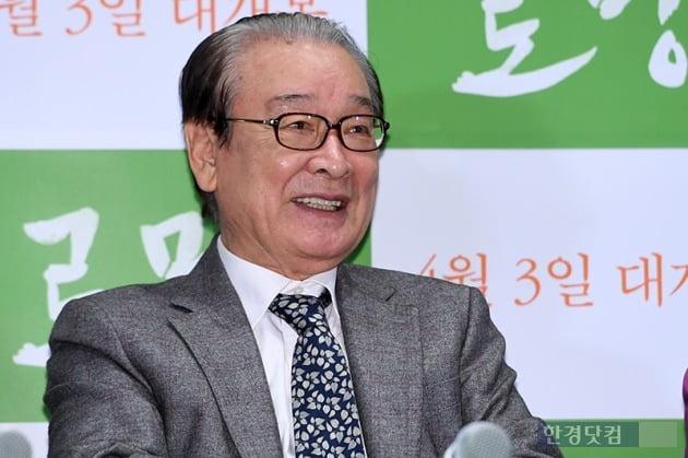 """[전문] 원로배우 이순재 """"머슴 매니저? 왜곡·편파보도"""" 후배들에 했던 조언 재조명"""