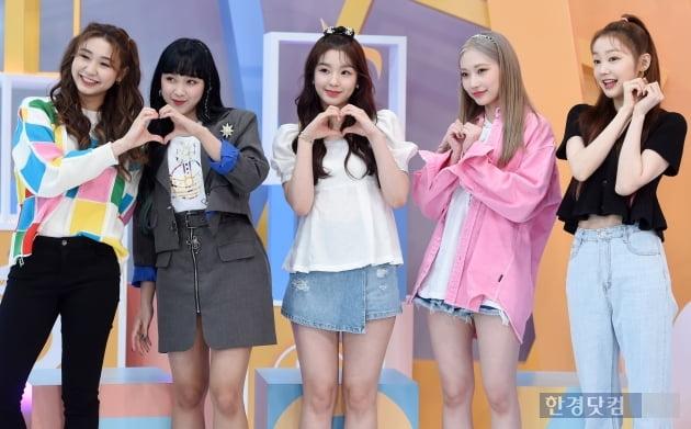 [포토] 시크릿넘버, '사랑스러운 소녀들의 하트~'